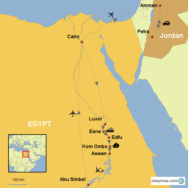 EGYPT FAMOUS DESTINATIONS