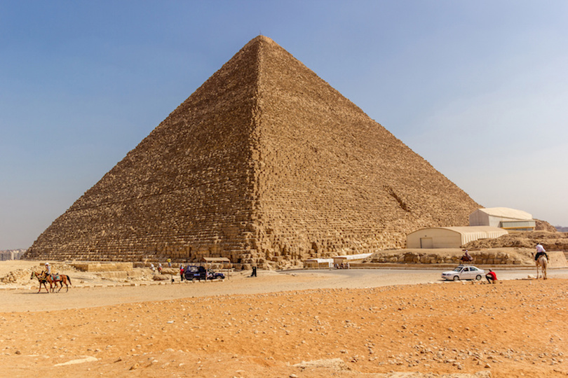 Pyramids of Giza & the Egyptian Museum