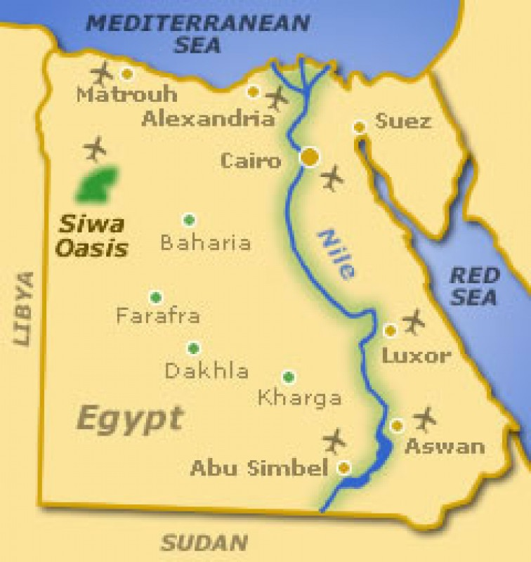 3 Days 2 nights Siwa - Alexandria