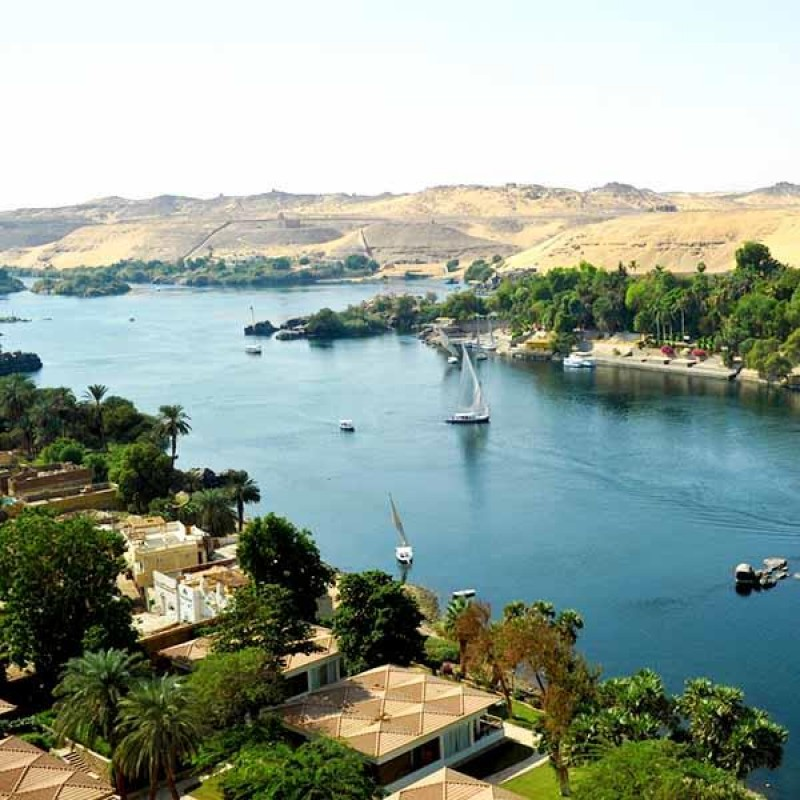 Long Cruise From Aswan to Cairo 15 Days / 14 Nights