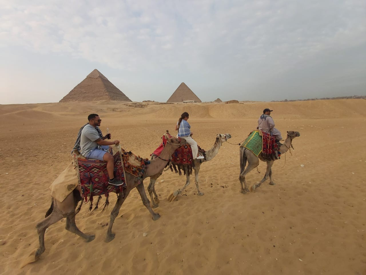 CAMEL RIDE PRIVATE AT THE PYRAMIDS SUNRISE | SUNSET