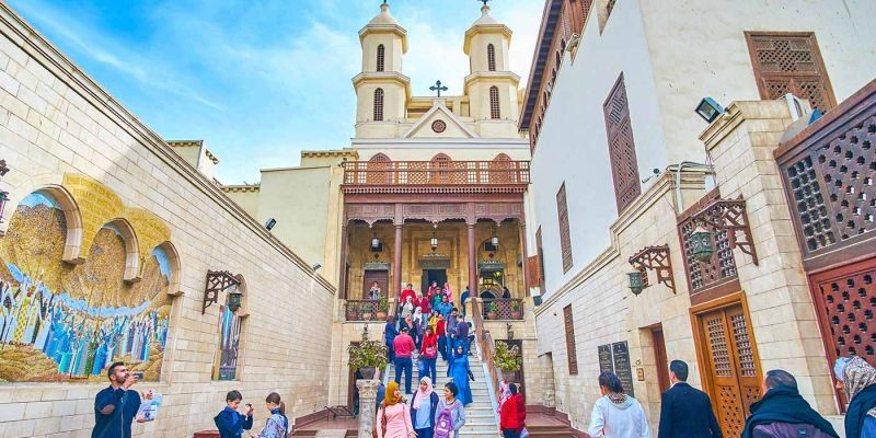 Coptic Cairo Tour | Hanging Church,  Abu Serga & Ben Ezra.