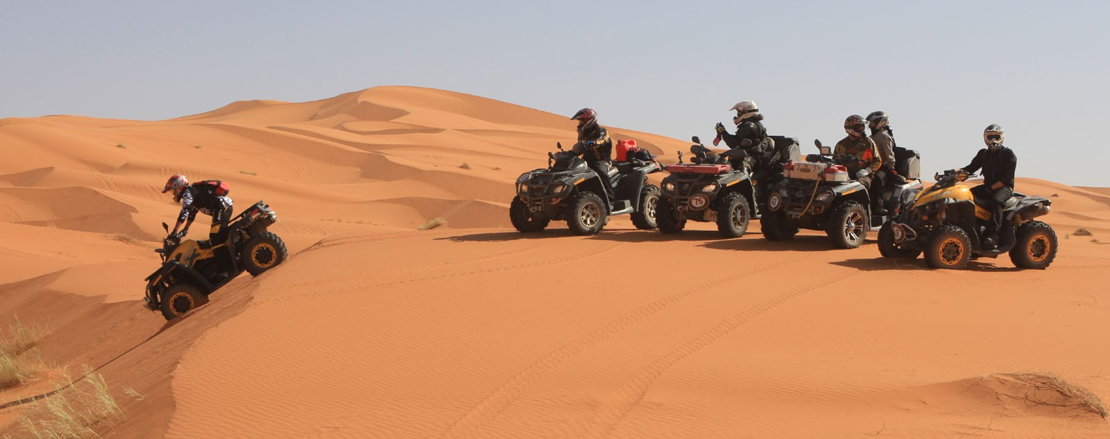 Desert Quad Bike Safari in Hurghada to Bedouin Village