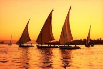 Private Felucca in the River Nile